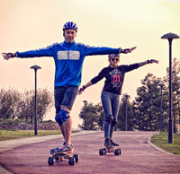 custom electric skateboards