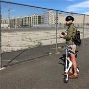 Airwheel E6 mini folding electric bike