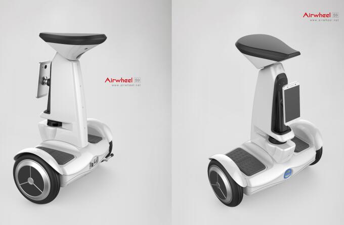 Airwheel rolled out S9 service robot on CeBIT 2016 giving more than you think.