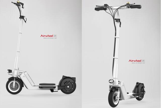On CeBIT 2016, the newly launched Airwheel Z5 electric scooter is well acclaimed.