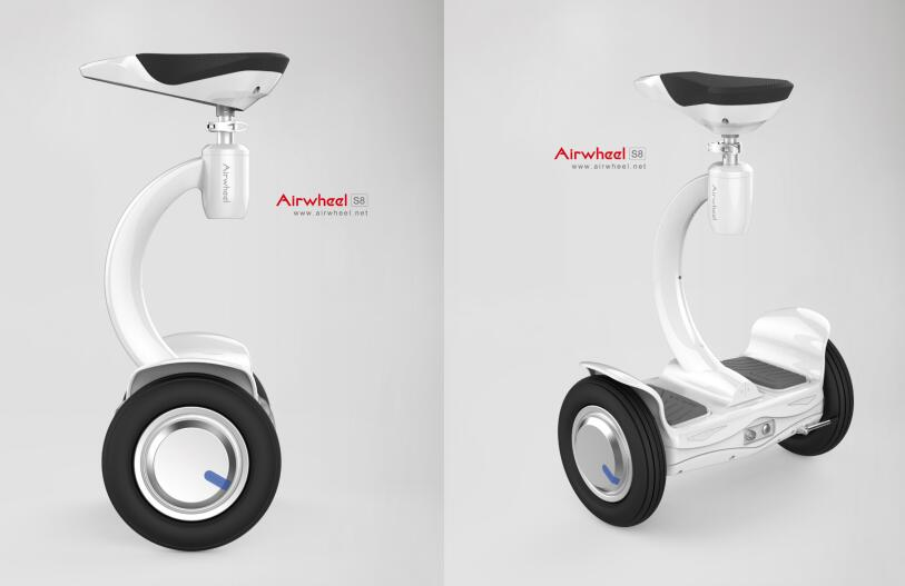 Airwheel S8 is a newly designed self-balancing electric scooter with multi-pose controlling system.