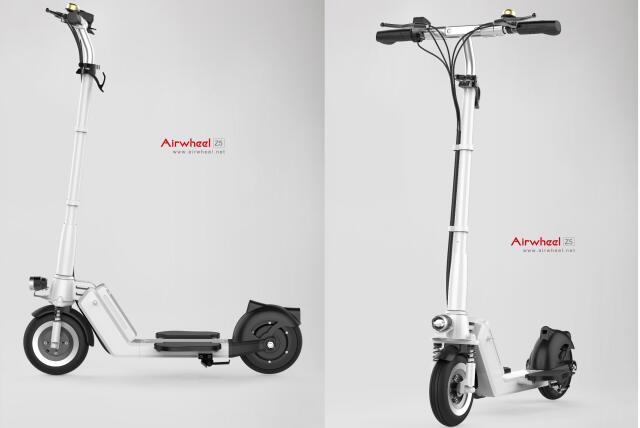 The newly released Airwheel Z5 standing up electric scooter is advocating portability and convenience.