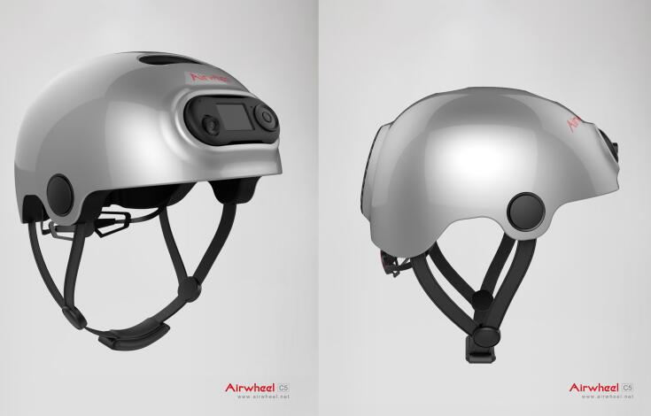 With the development of science and technology, there comes the smart helmet and Airwheel C5 is a kind of smart helmet.