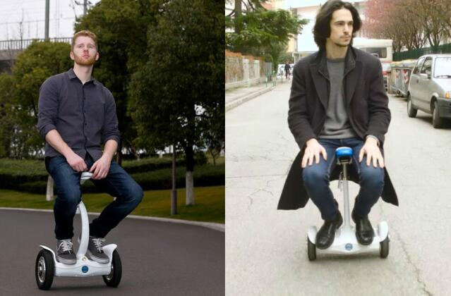 S6 pioneers the multi-riding posture self-balancing electric scooter.