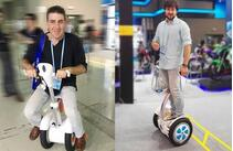 Принимая о разработке Airwheel Электрический велосипед