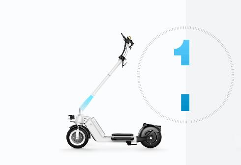 Thereby Airwheel 2 wheel electric scooter Z5 is quite useful in the rush hour.