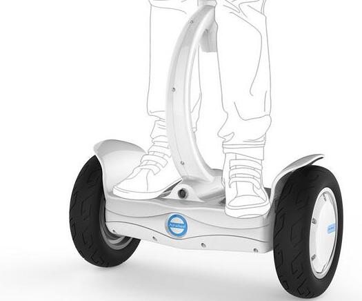 Whatever your riding style, Airwheel S8 two wheel saddle-equipped scooter will ensure you always have your hands free.