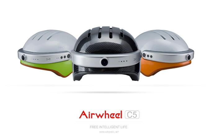 What they need is not only the camera, but the Airwheel helmet C5 to protect themselves and taking video.