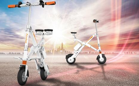 With regards to the seat of this electric bicycle, Airwheel has its special consideration.
