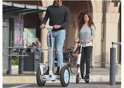 Airwheel intelligent self-balancing scooters make you a trendsetter of this intelligent age.