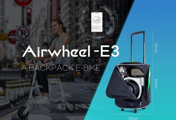 Being a folding electric scooter, Airwheel E3 has many features that make it beat Airwheel E6.