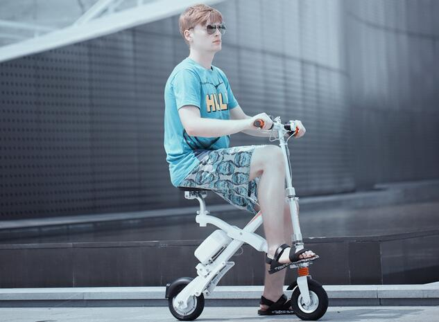 Undoubtedly, Benedict's lifestyle is rather enviable and you can begin your different lifestyle with Airwheel electric powered bicycles.