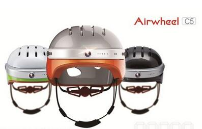 Airwheel intelligent helmet C5, integrated with camera lens, can provide multi-protections.