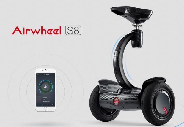 Airwheel has upgraded the double-wheels electric scooter to transcend the overall user experience.