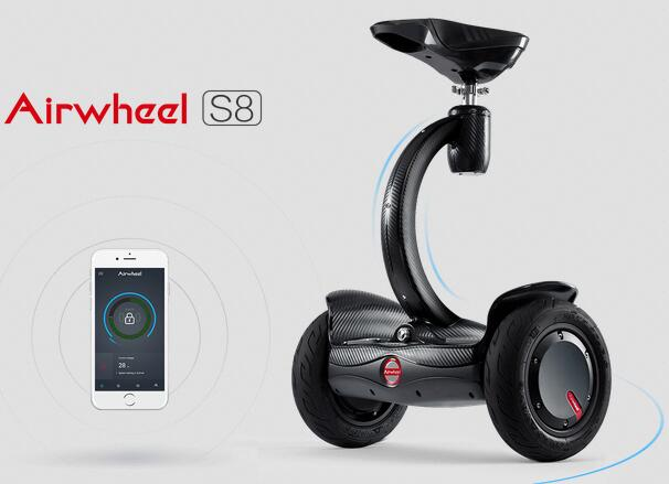 Airwheel S8 is also equipped with a battery protection module that can effectively prolong service life of a battery.