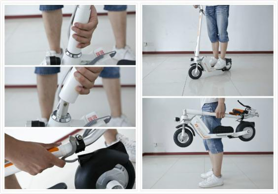 package and details of Airwheel Z5