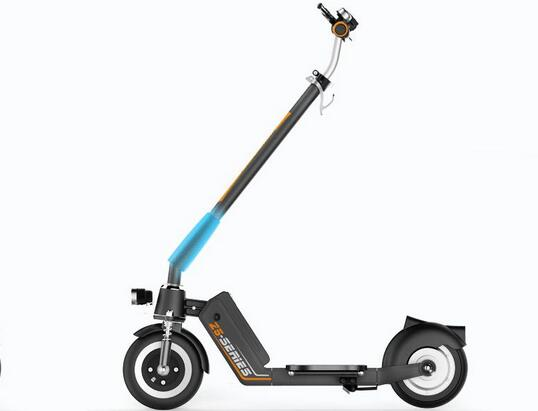 With the assistance of an Airwheel Z5 foldable electric scooter, outdoor activity can be possible.