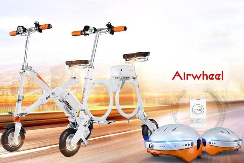 Airwheel smart e bike with its distinctive features and energetic designs has become a popular type.