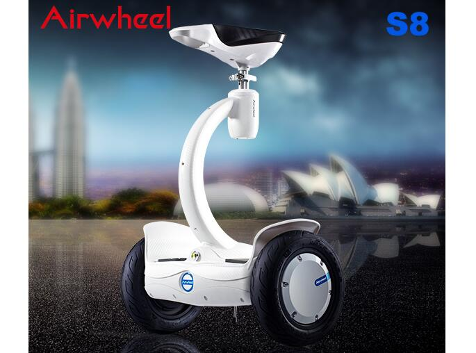 And you can enjoy your whole shopping process with riding Airwheel S8.