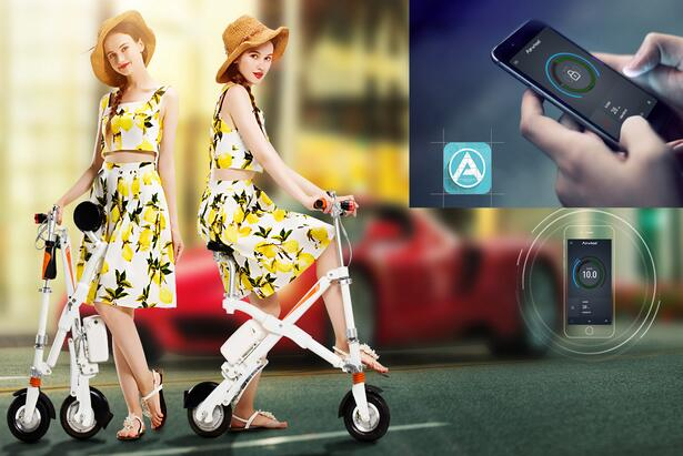 Airwheel E6 folding e bike, fortunately, helps to save such money and helps you to be a trend setter.
