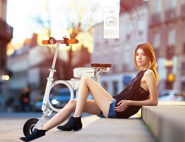 Because of all those outstanding advantages, Airwheel E3 smart electric bike is accepted by more and more people.