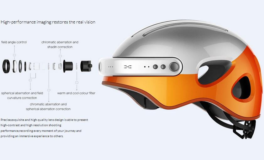Different from traditional helmet, it will make your riding full of joyfulness and more convenient than before.