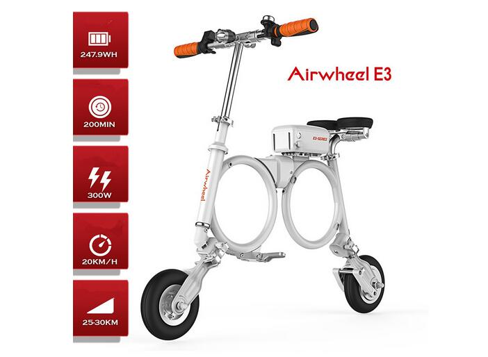 Airwheel E3 will be an excellent choice and it is favored by many people, especially those fashionable young boys and girls.