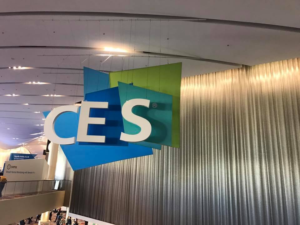 Here comes the feedback of the participation of CES 2017.