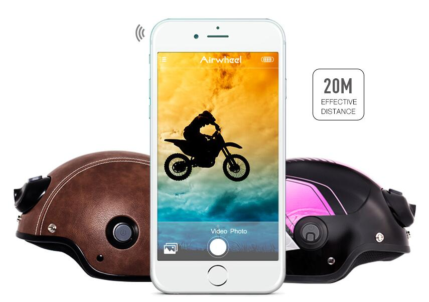 As for the design, C6 is specially designed for riders to keep safe and to record the wonderful moments.