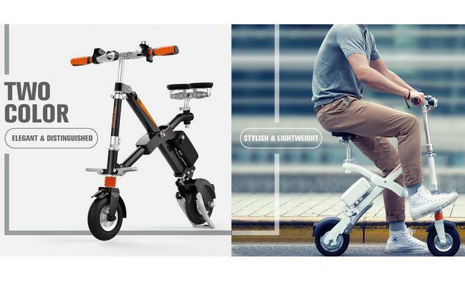Due to Airwheel, people can reinvent their routes with creativity, making space for fun.