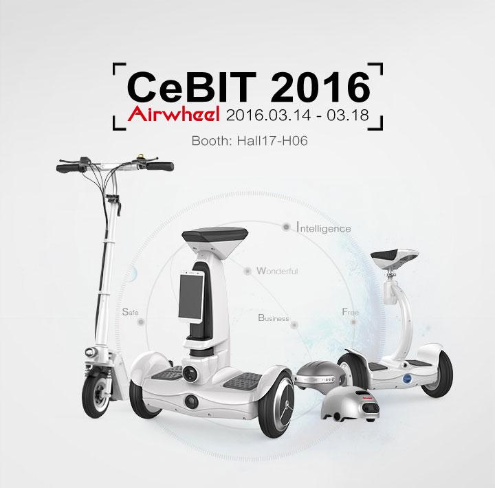 Airwheel at CeBIT 2016