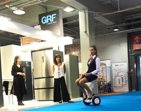 Airwheel electric walkcar