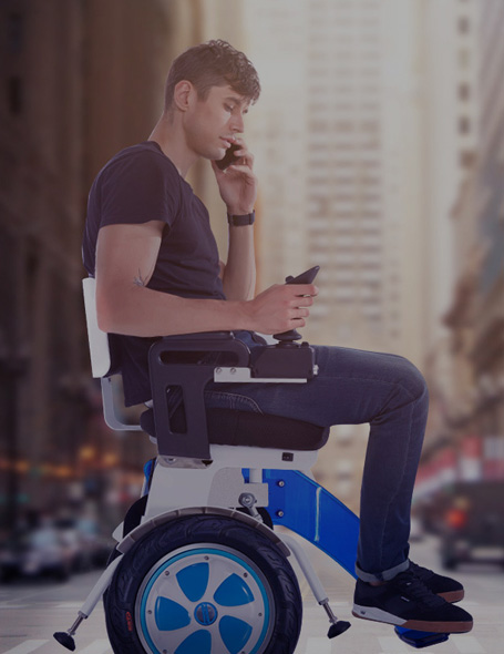Airwheel balance electric wheelchair