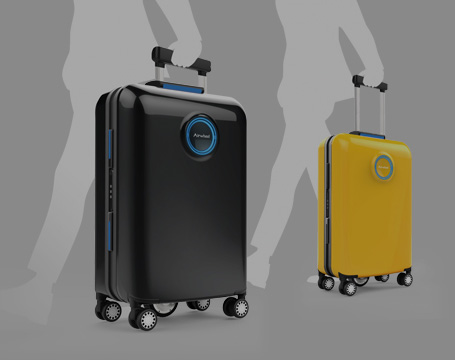 self-driving luggage