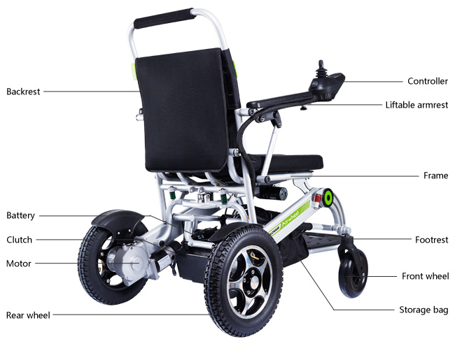 electric assisted wheelchair