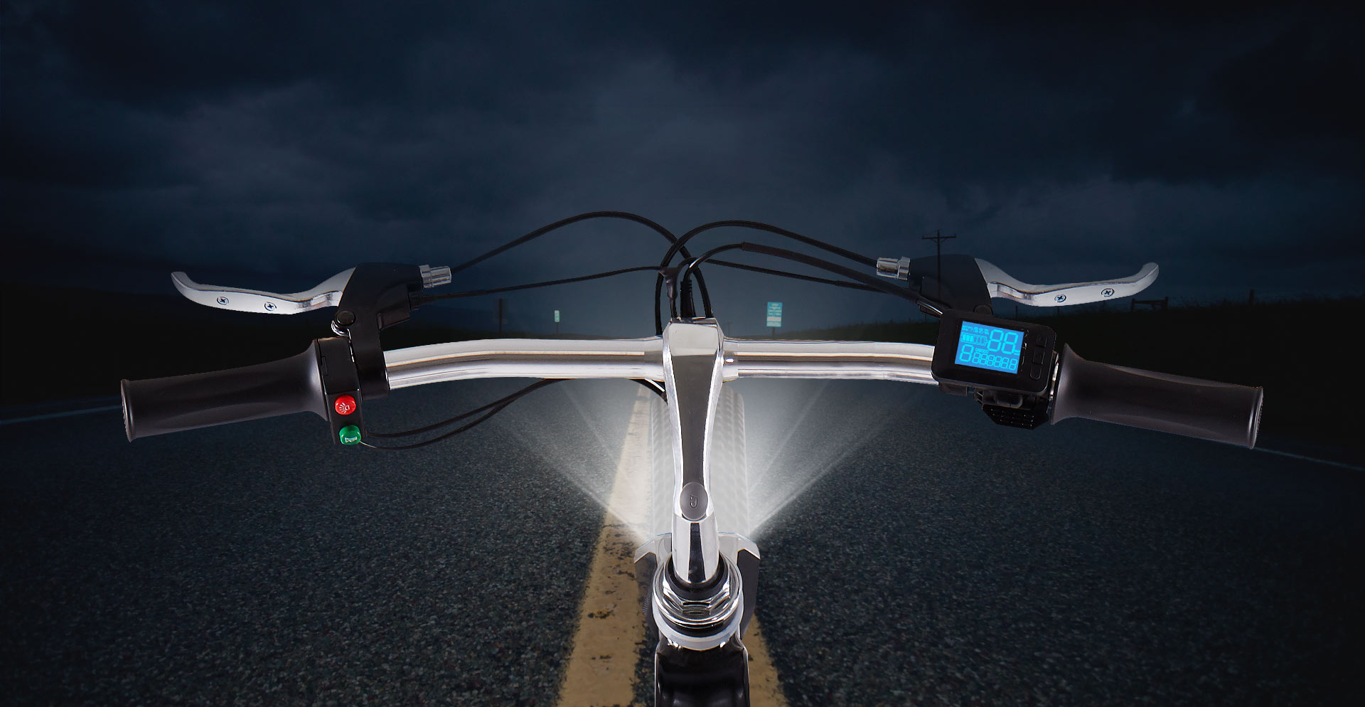 Airwheel R8 Led Light