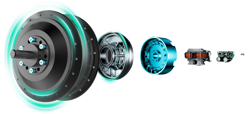 Brushless motor power system