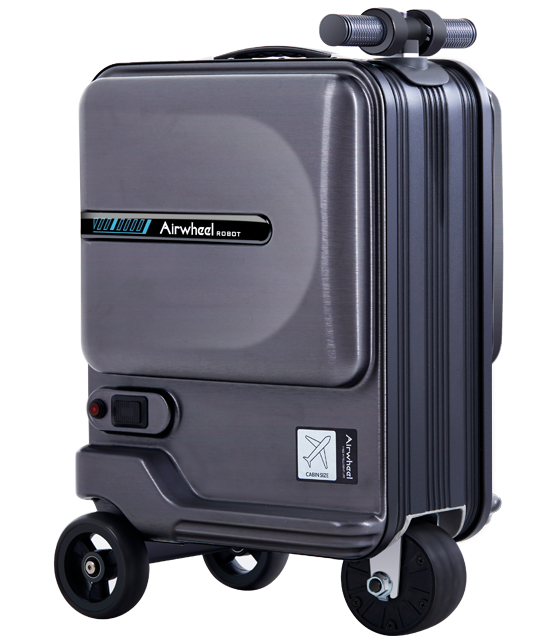 electric riding luggage