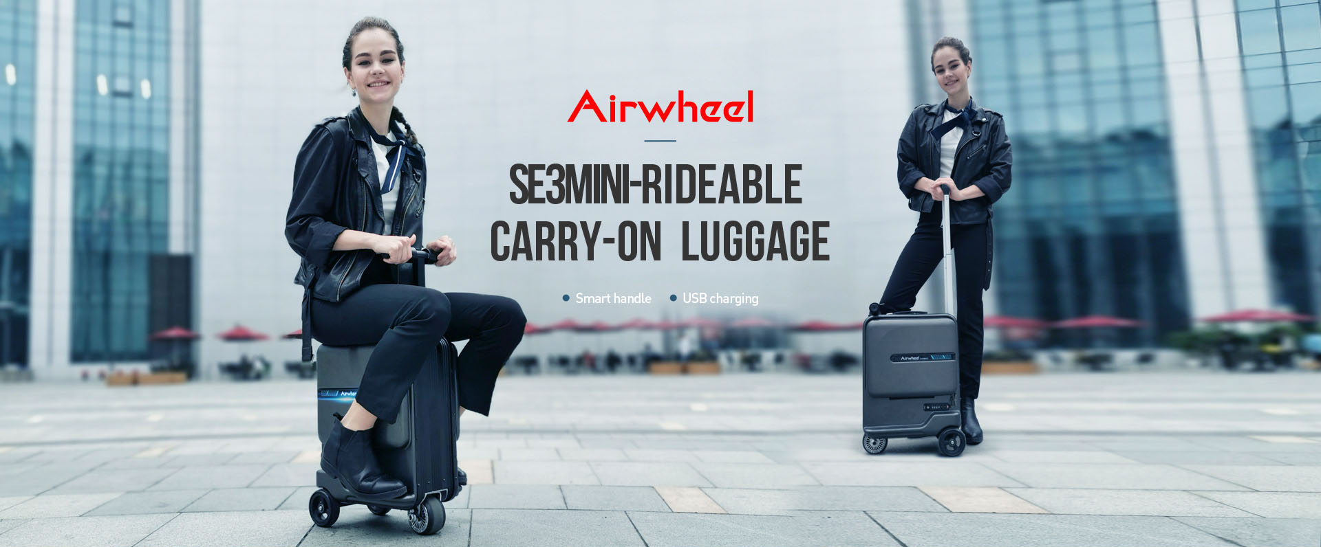 Airwheel se3mini smart suitcase