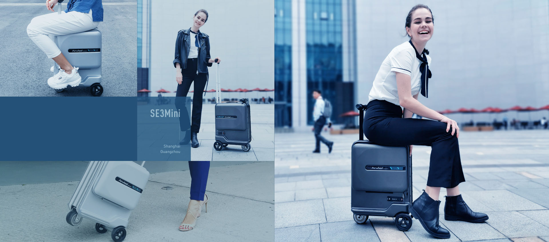 Airwheel SE3 motorized luggage
