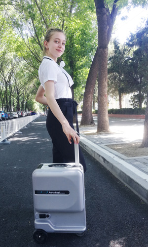Airwheel SE3Mini rideable luggage