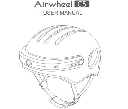 Airwheel C5 smart helmet user manual