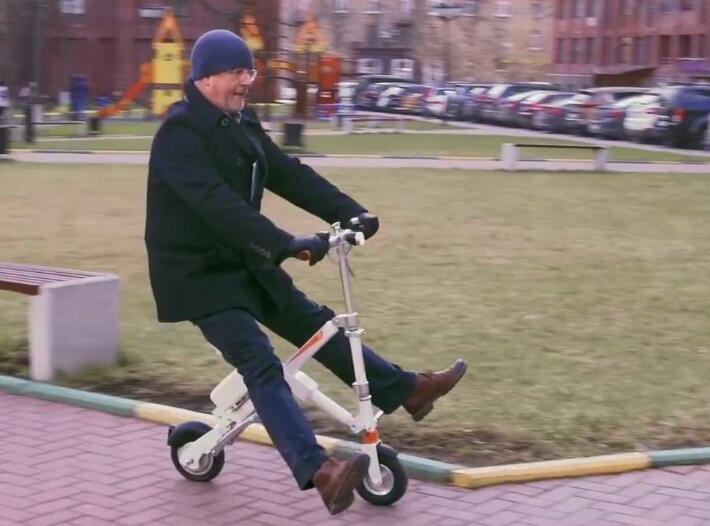 Airwheel scooters Testing in Russia