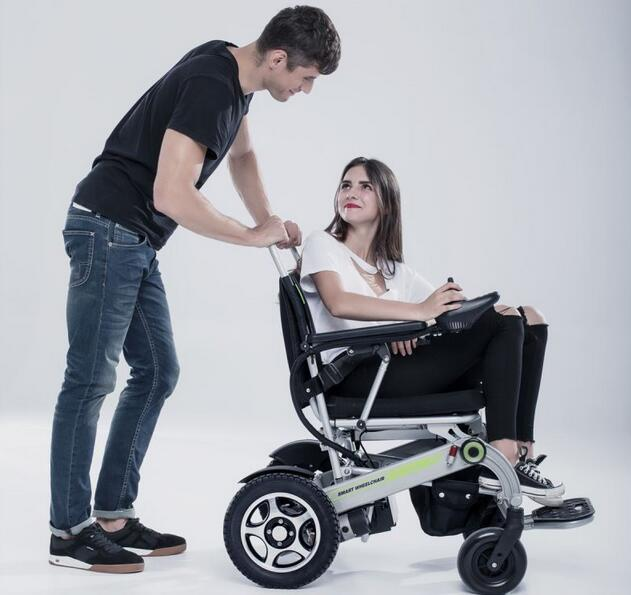 Airwheel H3 smart electric wheelchair is your personal transport close at hand.