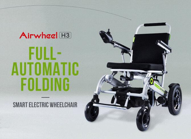 Airwheel H3 automatic folding electric wheelchair.