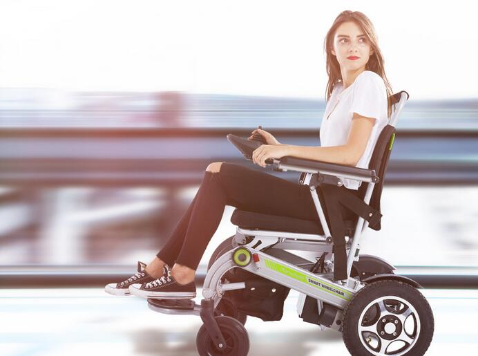Smart Airwheel H3 electric folding wheelchair.