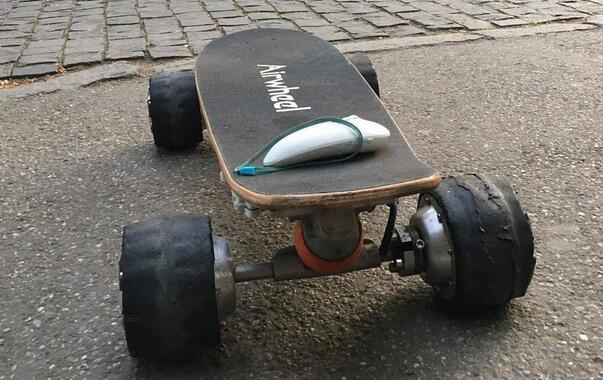 Airwheel Mars Rover in Detail