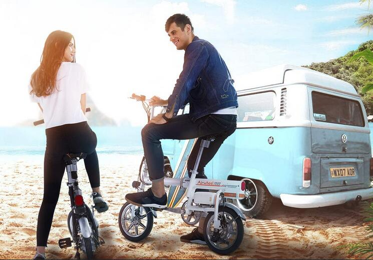 Airwheel R6 pedal electric assist bike