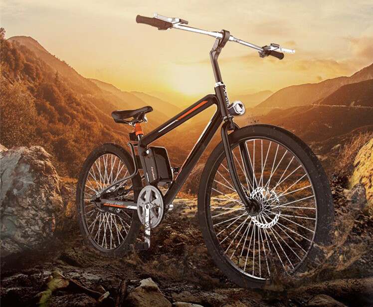 Airwheel R8 smart electric mountain bike.