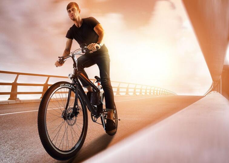Airwheel R8 smart electric bike can accompany you.